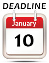 January 10 Deadline