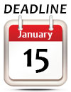 January 15 Deadline