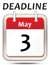 May 3rd Deadline